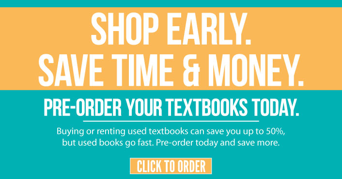 Order Your Textbooks Now and Save